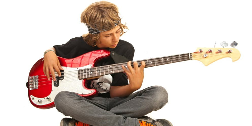 bass guitar lessons for kids hurstville sydney australia